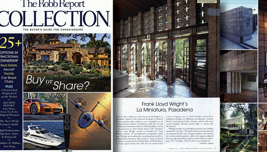 The Robb Report Collection