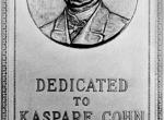 WS0054-^Kaspare Cohn ^Union Bank Plaque-Los Angeles,CA^Founder of Union Bank