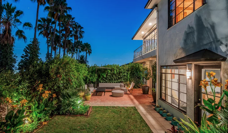 Curbed LA: Elegent Regency Moderne in Whitley Heights
